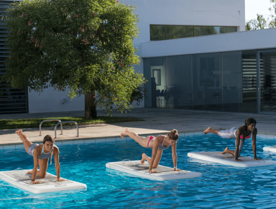 Aqua Yoga - the must-do class of 2017!