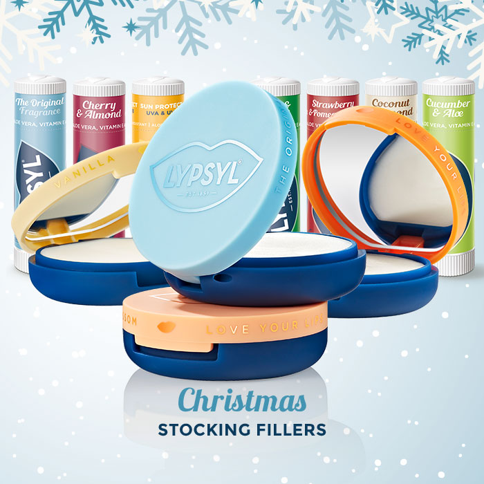 Try our Lypsyl mirror compacts